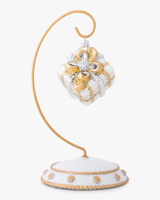 Juliska Berry & Thread Tartan Present Ornament 1
