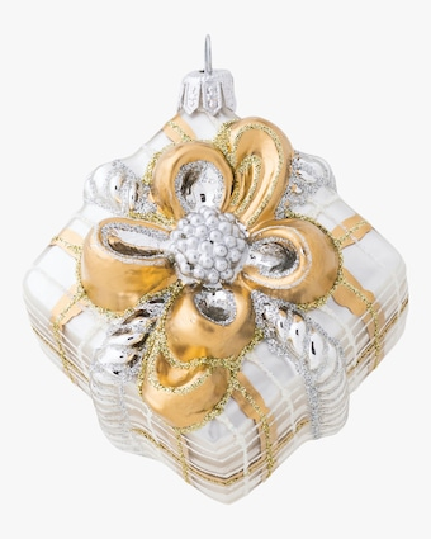 Juliska Berry & Thread Tartan Present Ornament 2