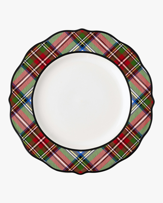 Juliska Stewart Tartan Dinner Plate 2