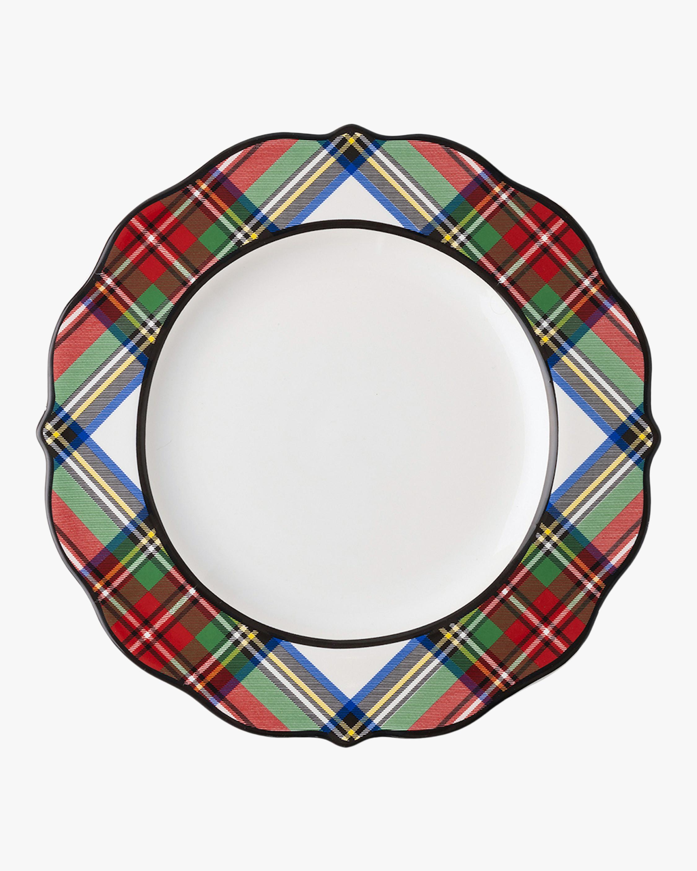 Juliska Stewart Tartan Dessert Plate 2