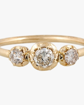 Jacquie Aiche Diamond Trio Ring 2