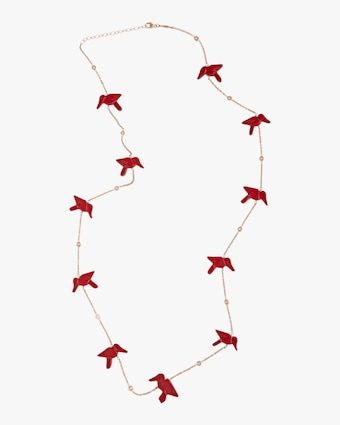 Jacquie Aiche Red Jasper Station Necklace 1