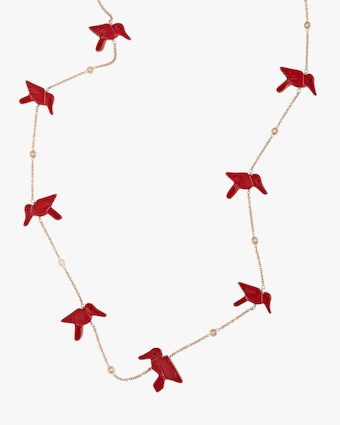 Jacquie Aiche Red Jasper Station Necklace 2