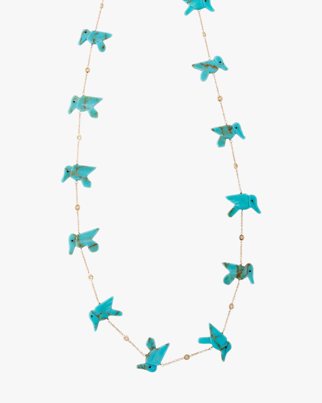 Jacquie Aiche Turquoise Station Necklace 2