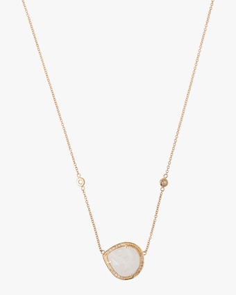 Jacquie Aiche Moonstone Pendant Necklace 1