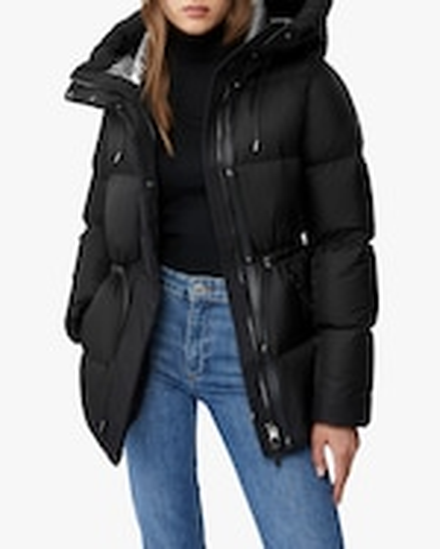 Mackage Freya Foil Shield Coat 1