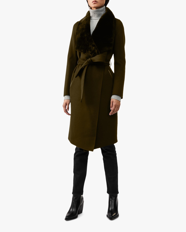 Mackage Sybil Double-Face Wool Coat 0
