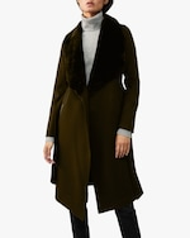 Mackage Sybil Double-Face Wool Coat 1