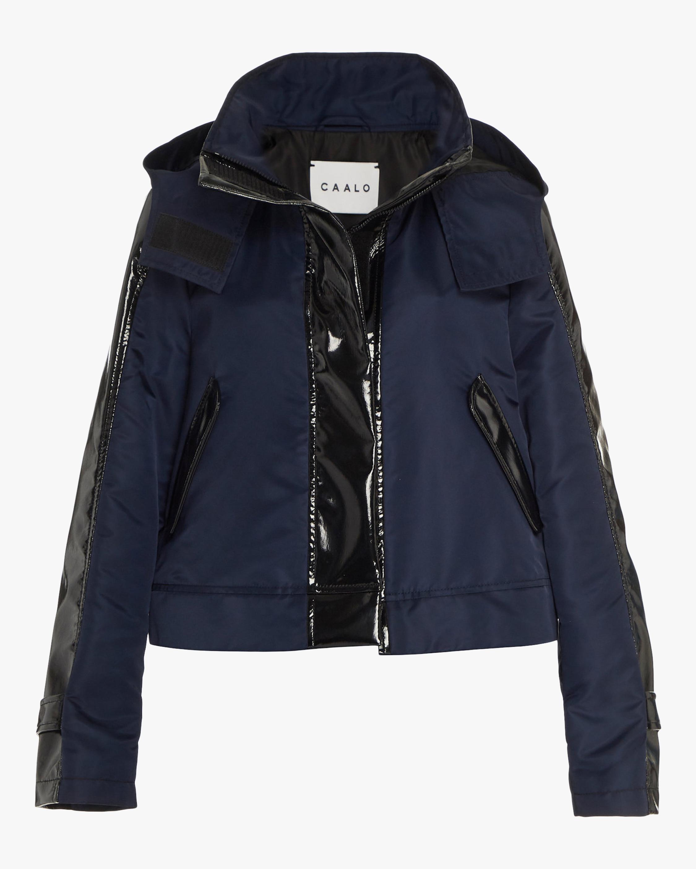 CAALO Sustainable Cropped Raincoat 0