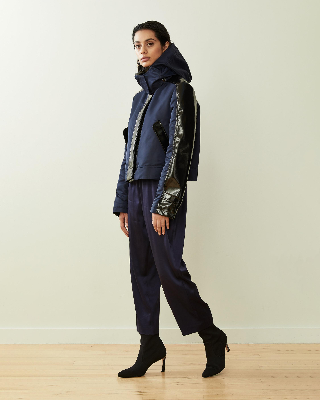 CAALO Sustainable Cropped Raincoat 1