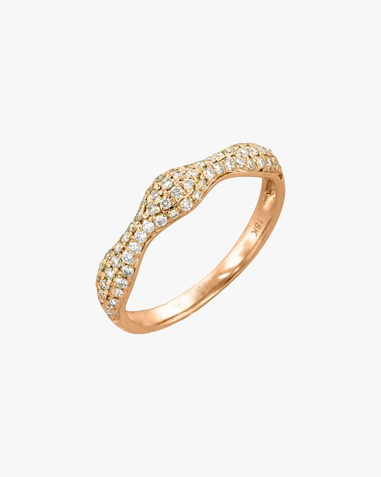 Ashley Morgan Rose Gold Diamond Ring 0