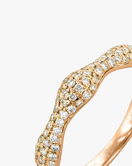 Ashley Morgan Rose Gold Diamond Ring 1