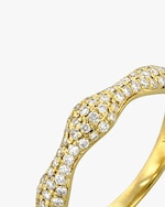 Ashley Morgan Yellow Gold Diamond Ring 1