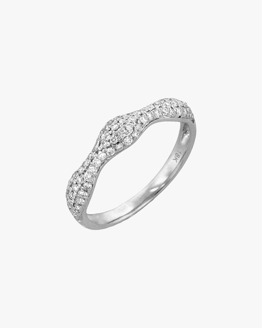 Ashley Morgan White Gold Diamond Ring 0