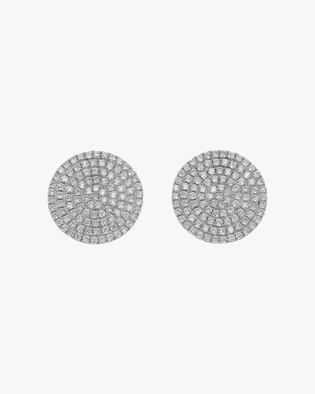 Ashley Morgan Diamond Circle Earrings 1