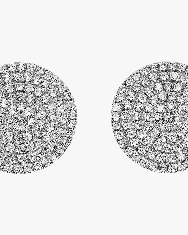 Ashley Morgan Diamond Circle Earrings 2