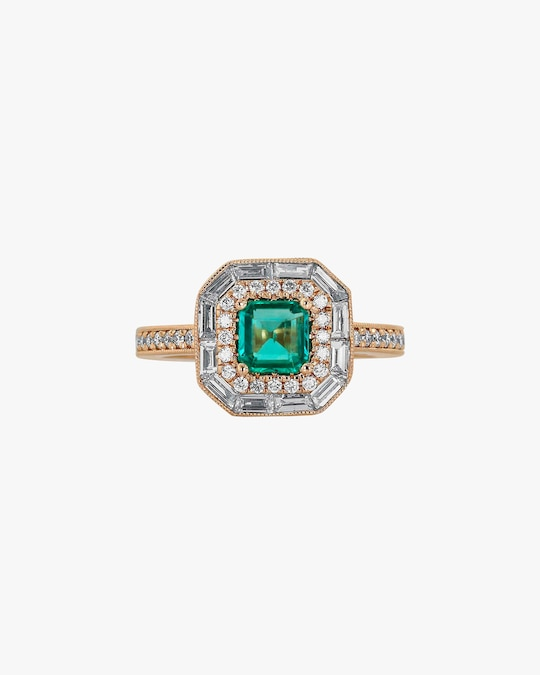 Ashley Morgan Emerald Ring 0