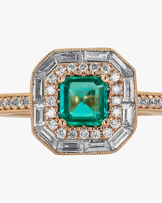 Ashley Morgan Emerald Ring 1