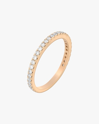 Ashley Morgan Rose Gold Eternity Ring 1