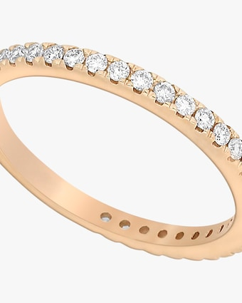 Ashley Morgan Rose Gold Eternity Ring 2