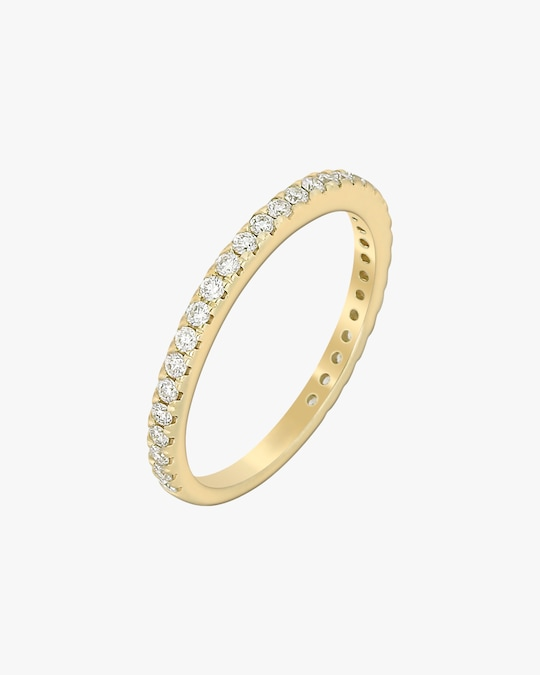 Ashley Morgan Yellow Gold Eternity Ring 0