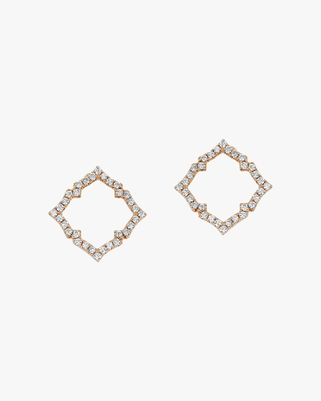 Ashley Morgan Keyhole Earrings 0