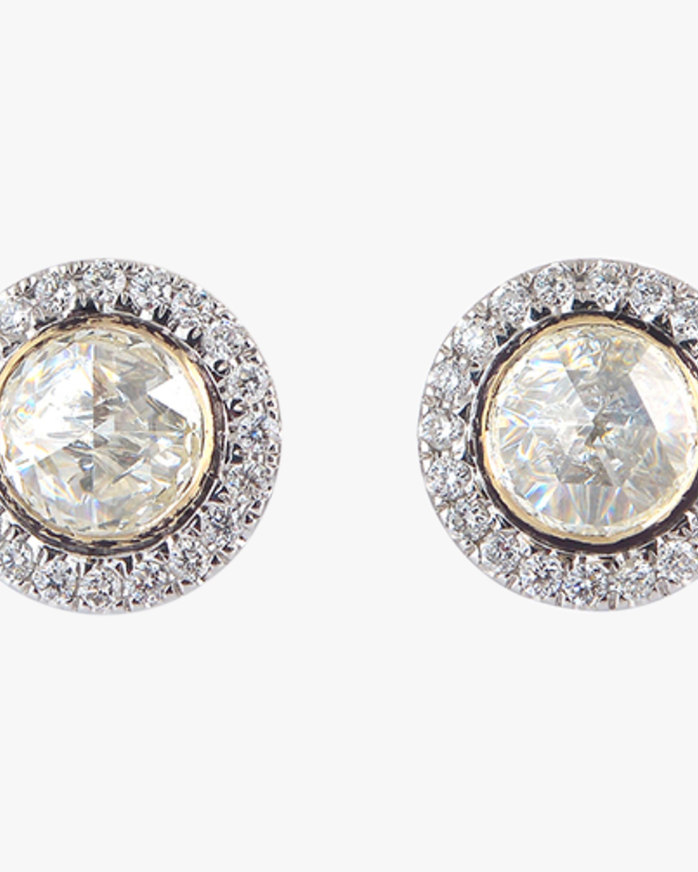 Ashley Morgan Diamond Stud Earrings 1