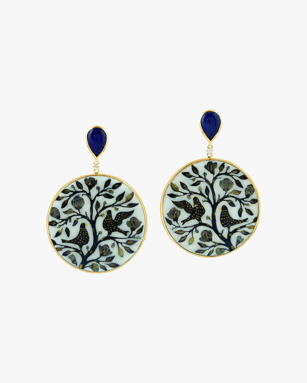 Ashley Morgan Flora & Fauna Earrings 1