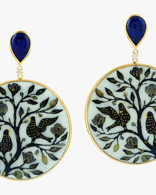 Ashley Morgan Flora & Fauna Earrings 2