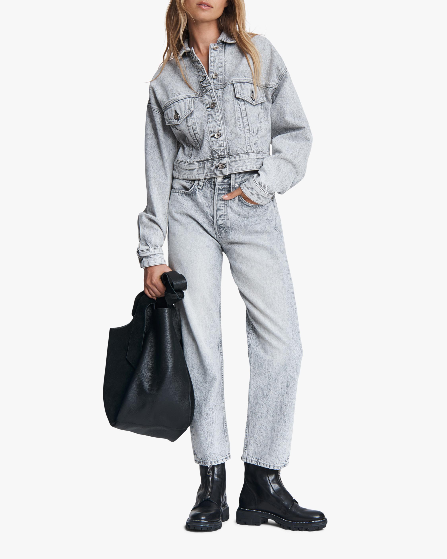 rag & bone Maya High-Rise Ankle Slim Jeans 1
