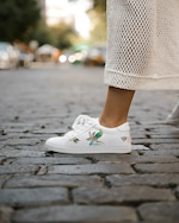 Alepel Floral Bird Sneaker 2