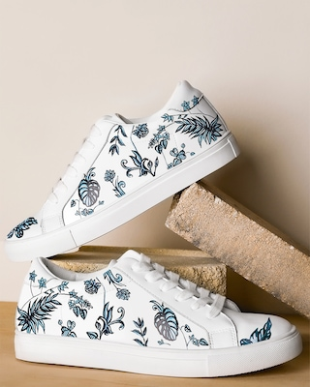 Alepel Sapphire Jungle Sneaker 1