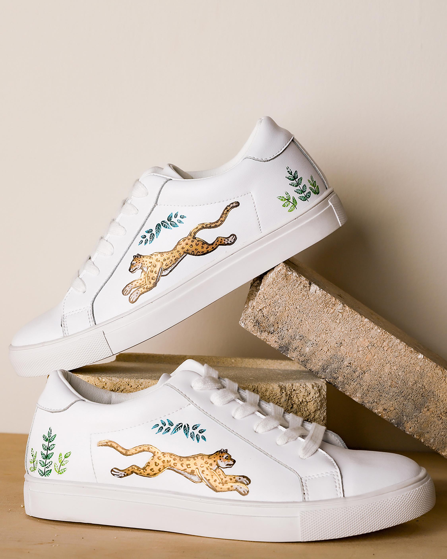 Alepel Golden Leopard Sneaker 1
