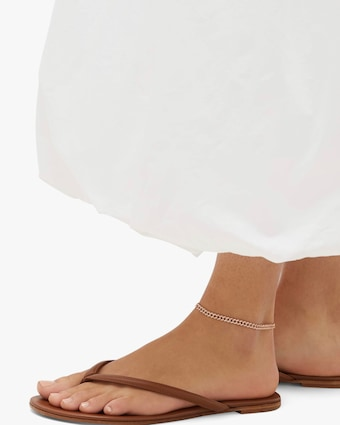Shay Jewelry Mini Link Anklet 2