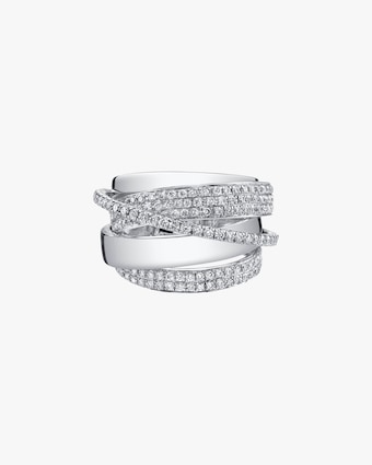 Shay Jewelry Diamond Orbit RIng 2