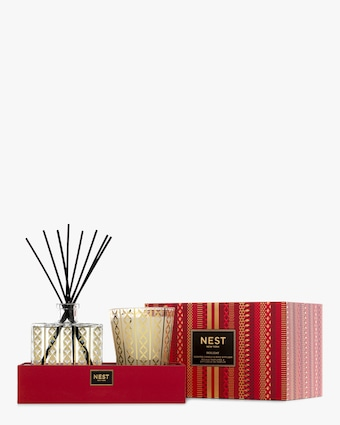 Nest Fragrances Holiday Candle & Reed Diffuser Gift Set 2
