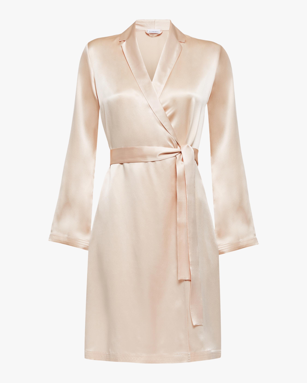 La Perla Silk Short Robe 1