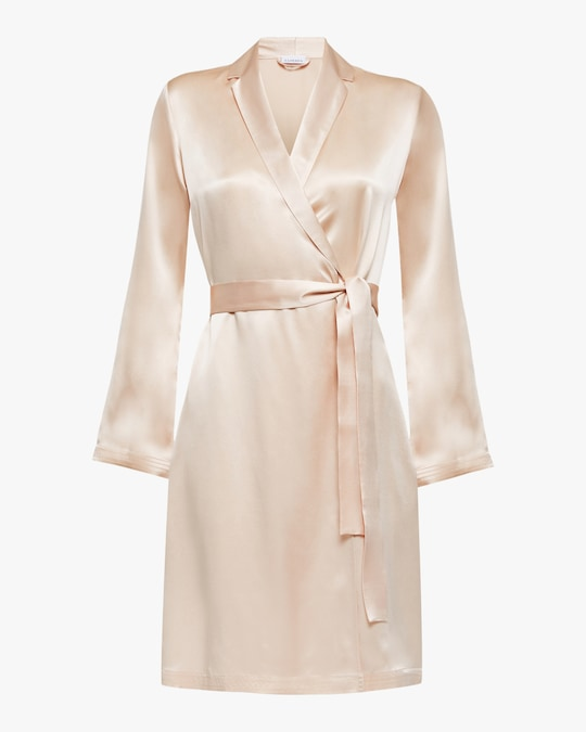 La Perla Silk Short Robe 0