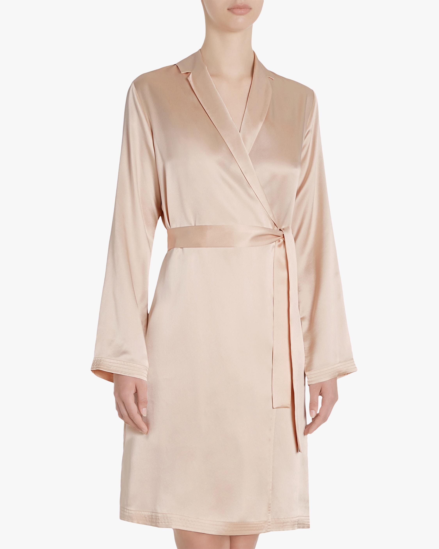 La Perla Silk Short Robe 2