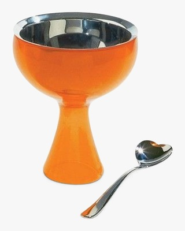 ALESSI Big Love Bowl & Spoon 2