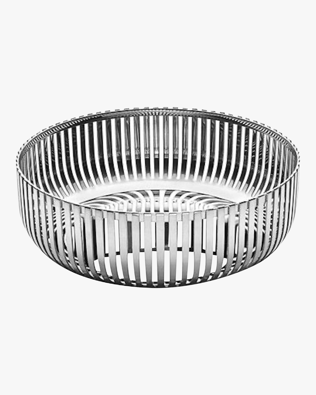 ALESSI Stainless Steel Round Basket 0