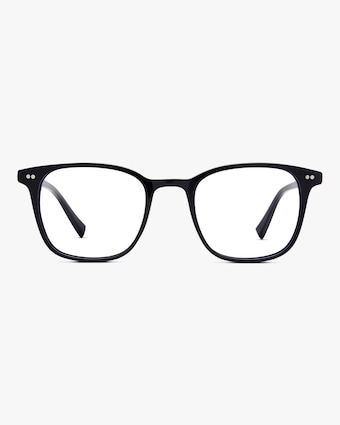 Baxter Blue Clark Square Blue Light Eyeglasses 1