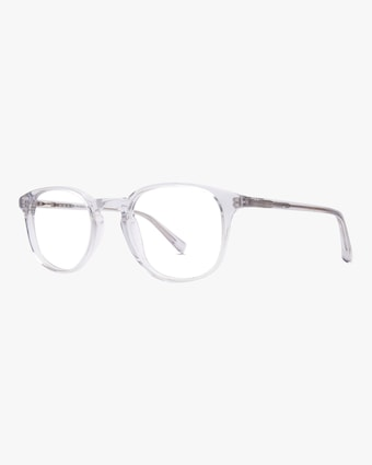 Baxter Blue Lane Round Blue Light Eyeglasses 2