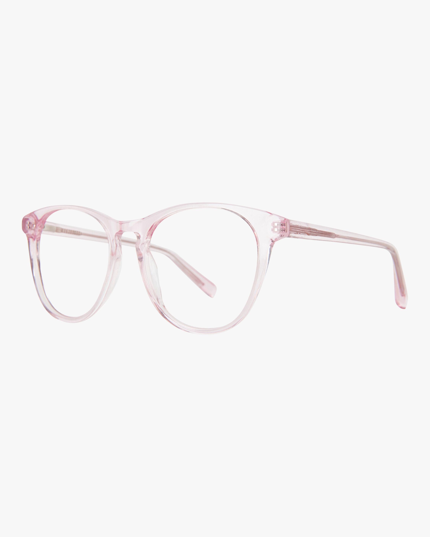 Baxter Blue Nat Round Blue Light Eyeglasses 1
