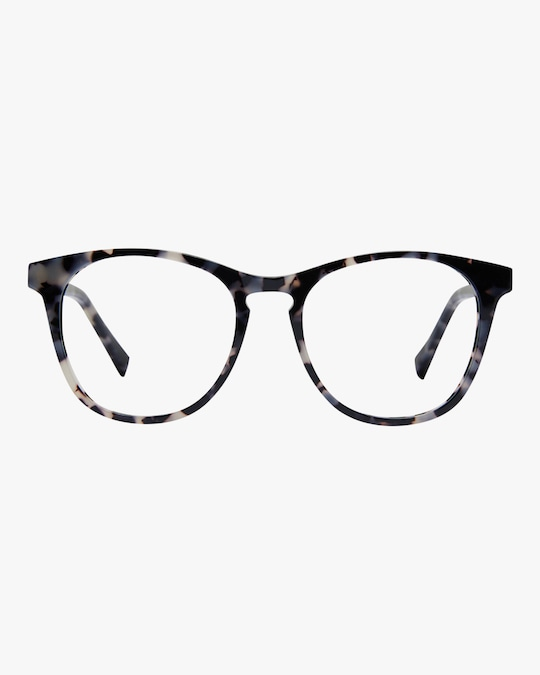 Baxter Blue Nat Round Blue Light Eyeglasses 0
