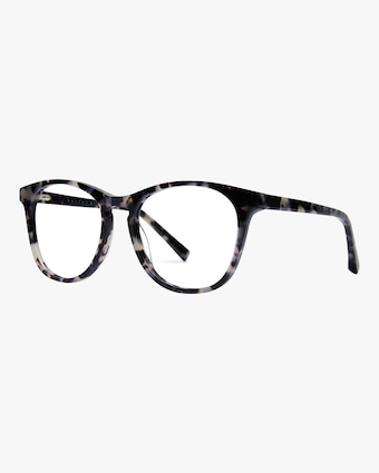 Baxter Blue Nat Round Blue Light Eyeglasses 2