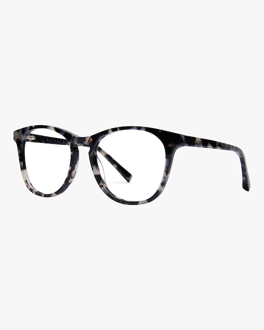 Baxter Blue Nat Round Blue Light Eyeglasses 1