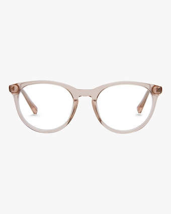 Baxter Blue Lola Round Blue Light Eyeglasses 1