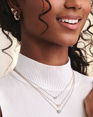 De Beers Forevermark The Forevermark Tribute™Collection Pear Diamond Necklace 2