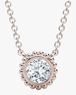 Forevermark The Forevermark Tribute™Collection Beaded Diamond Necklace 0